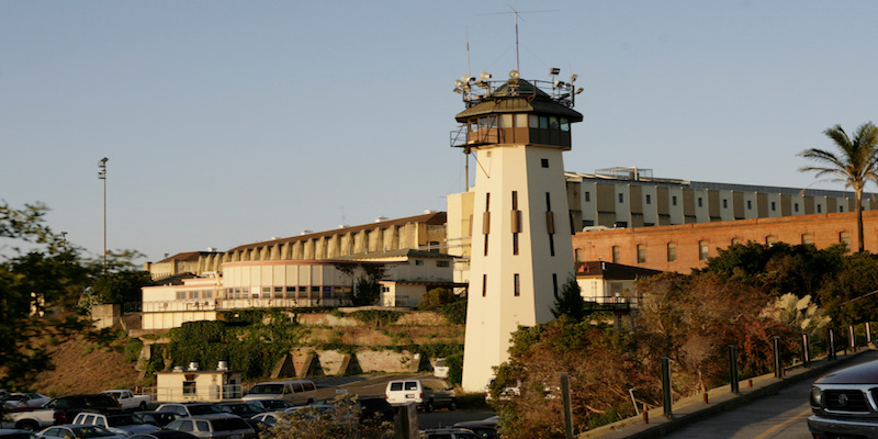 "The San Quentin Correctional Facility in San Quentin, Calif. is photographed on Sept. 29, 2011. Members of the Probation Department of Santa Clara County were visiting the facility to conduct pre-release interviews with inmates. The purpose of their visit is to access the needs of inmates who will shortly be paroled back into the county. A new ""realignment"" plan gets under way this week that will shift the responsibility of rehabilitating thousands of nonviolent felons from the state prison system to the local counties.  Santa Clara County plans to send similar teams to prisons throughout California over the next nine months to interview 1,067 inmates who will be returning home.  It's a daunting task no other large California county is taking on as responsibility for supervising certain newly released felons like Correa shifts to county probation officers from state parole agents under a broader ""realignment'' of the criminal justice system designed to cut California's prison overcrowding and costs. Under state law, parolees must return to the county where they lived at the time of the crime.   (Gary Reyes / Mercury News)"