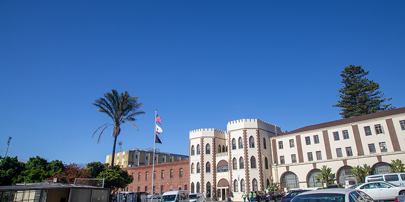 Exterior of San Quentin State Prison