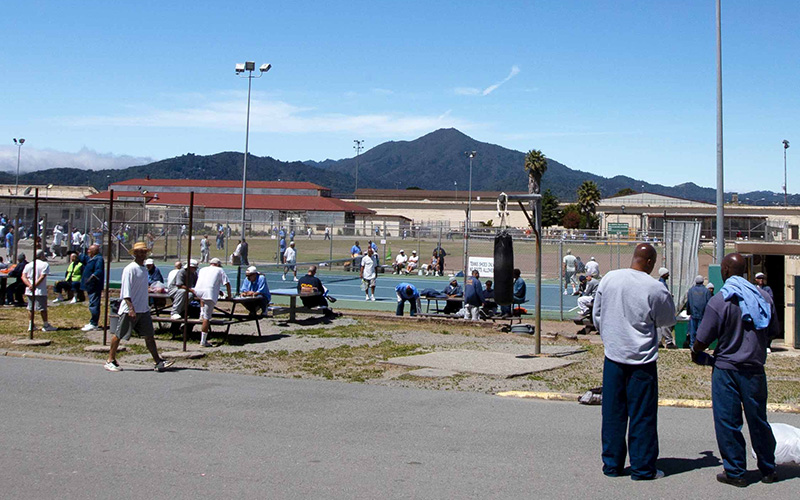 From inside the yard at San Quentin State Prison, the mountain serves a positive psychological purpose for some—allowing them to maintain a visual connection with the physical world outside the prison walls. Outside the prison, Mount Tamalpais is one of the most ubiquitous references in the area; businesses and institutions across Marin county have adopted its name. It is thus something significant that the inside and outside communities share.